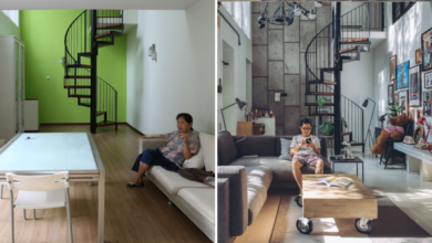 Photo of KL Photographer Aesthetically Transforms This Suite Into A Plant-Filled Industrial Style Home