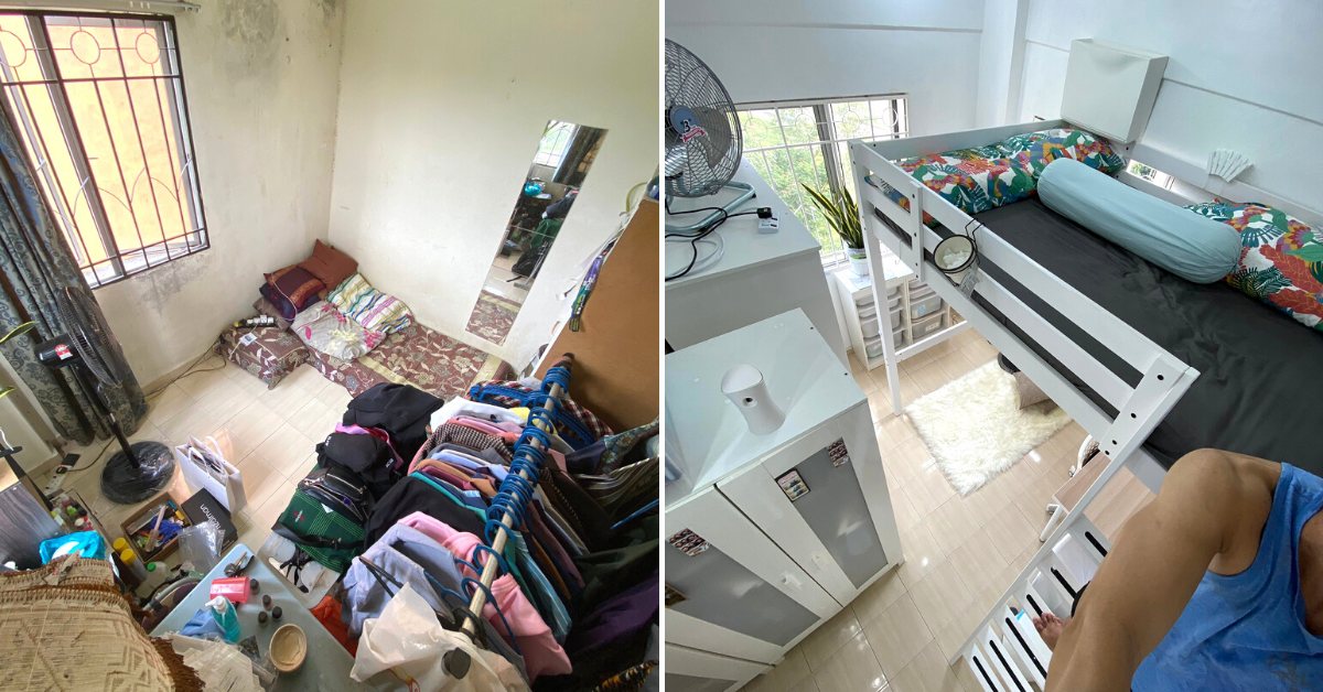 Photo of Malaysian Transformed His Bedroom Into An IKEA Showroom With RM5000 Savings