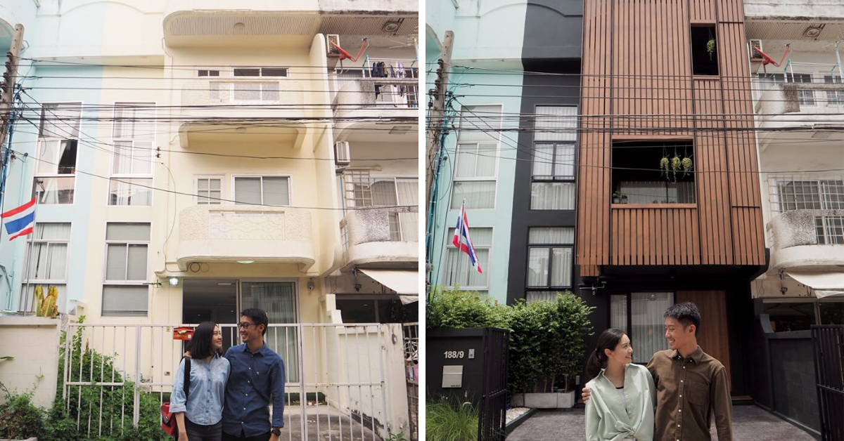Photo of Thai Couple Transforms A 30 Year Old 3-Storey House Into Their Dream Townhome In 8 Months