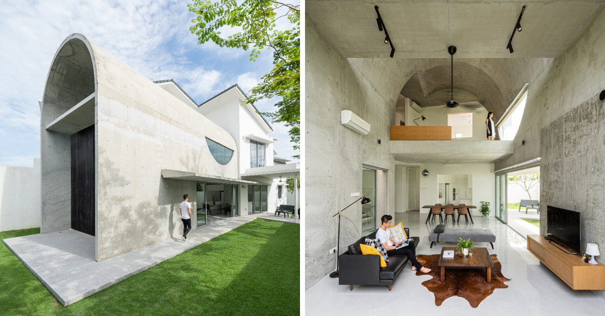Photo of Bewboc House: This Terrace House In KL Is A Concrete Masterpiece And A Minimalist's Dream