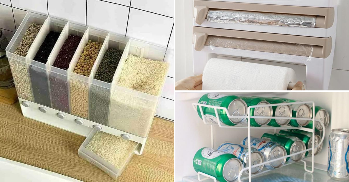 Photo of 10 Kitchen Organization Tools To Help Declutter Your Happy Space